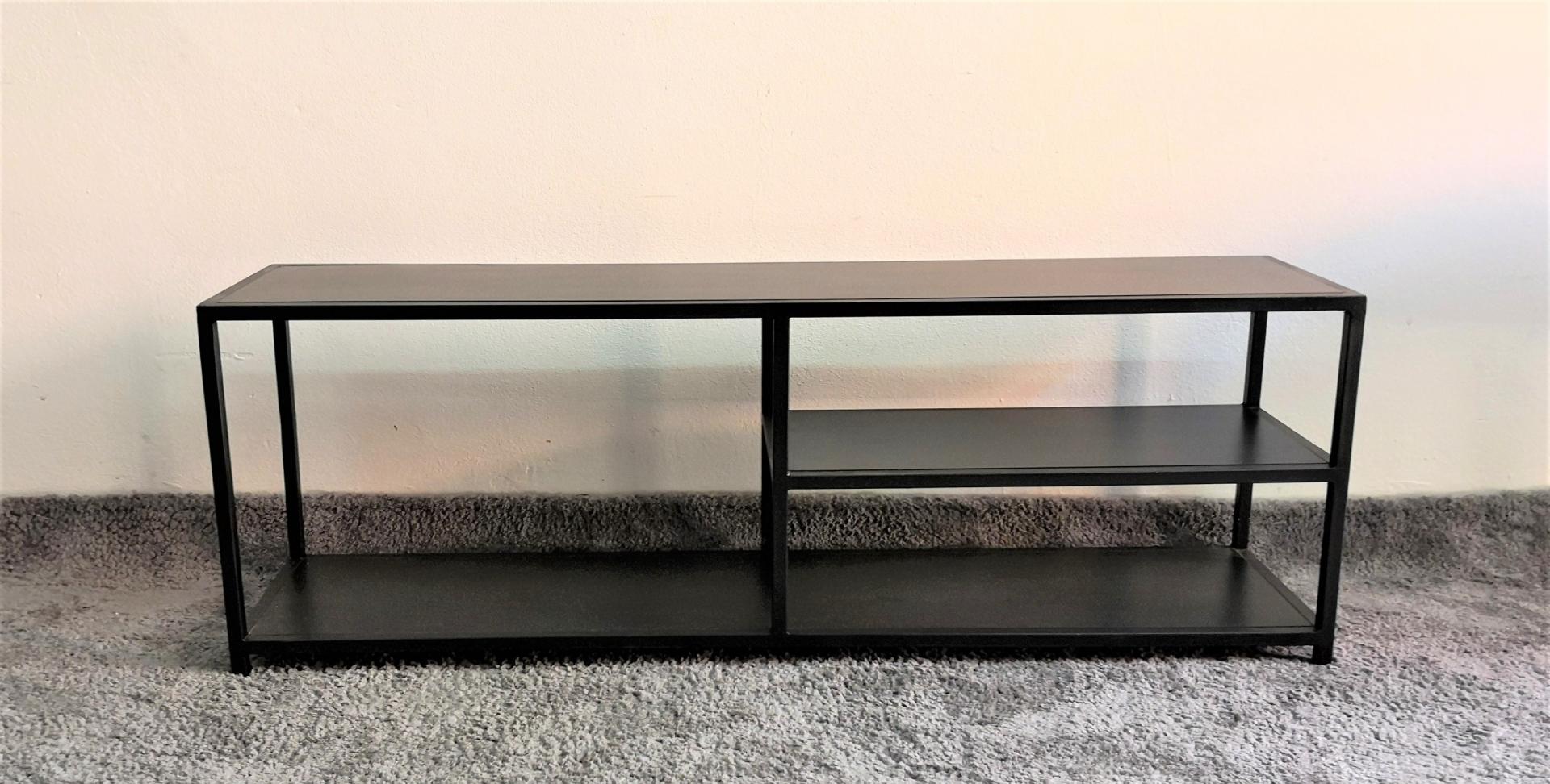 Meuble Tv Metal Noir Mi Furniture