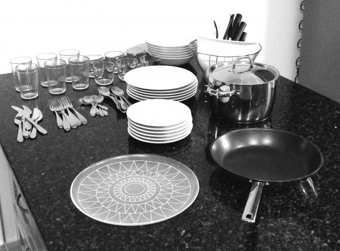 Set cuisine